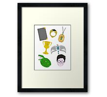 The Seven Horcruxes Framed Print
