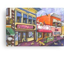 Manitou Colorado~Dog Invasion Canvas Print