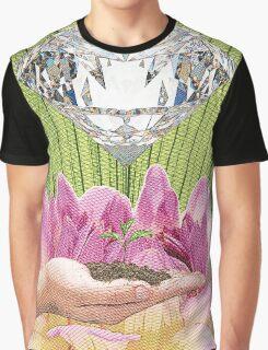 Diamond Template of Nature Graphic T-Shirt
