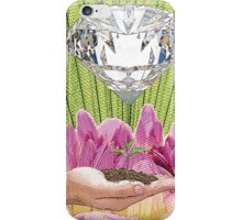 Diamond Template of Nature iPhone Case/Skin