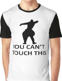 You Cant Touch This White Graphic T-Shirt