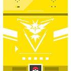 Team Instinct Pokemon Case by Designsbyangelr
