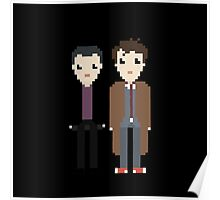 The 9th and 10th doctor Poster