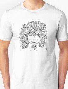 girl smiling Unisex T-Shirt