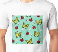 Swallowtails and Ladybugs Unisex T-Shirt