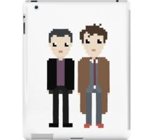 The 9th and 10th doctor iPad Case/Skin