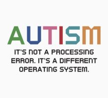 Autism Operating System Kids Clothes