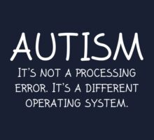 Autism Operating System by DesignFactoryD