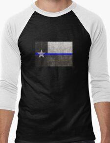 Texas Thin Blue Line Men's Baseball ¾ T-Shirt