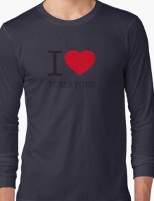 I ♥ TOMATOES Long Sleeve T-Shirt