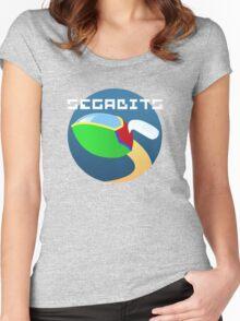 Opa Opa - SEGAbits Logo Shirt Women's Fitted Scoop T-Shirt
