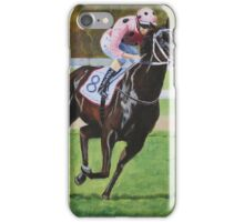 Black Caviar wins the C F Orr stakes at Caulfield iPhone Case/Skin