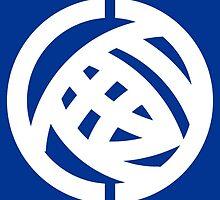 Flag of Ibaraki Prefecture, 1966-1991 by abbeyz71
