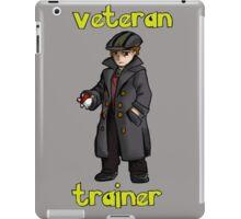 veteran trainer iPad Case/Skin