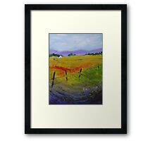 In the West Framed Print