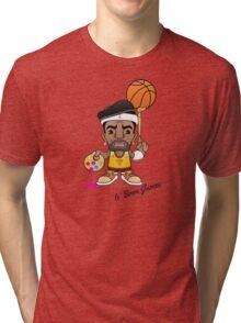 le' Bron James Tri-blend T-Shirt