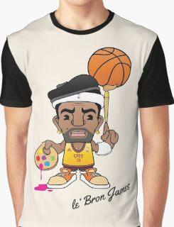 le' Bron James Graphic T-Shirt