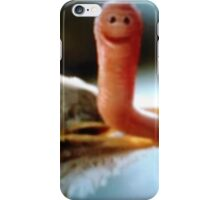 Be Happy Worm iPhone Case/Skin