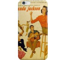 Wanda Jackson, Rockabilly lp, 1950's, Gene Vincent  iPhone Case/Skin
