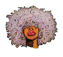 Lavender Fro by Nia Brown