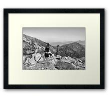 Pine Mountain Framed Print