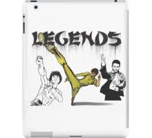 Martial Arts Legends iPad Case/Skin