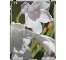 White Watsonia iPad Case/Skin