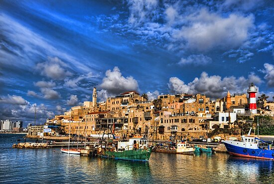 The old port, Jaffa by Ronsho