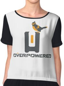 OverPowered Bastion and Ganymede Chiffon Top