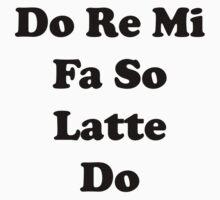 Do Re Mi Latte One Piece - Short Sleeve