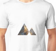 Triangle Mountain image Unisex T-Shirt