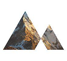 Triangle Mountain image Photographic Print