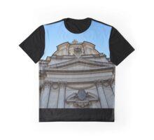 Roman Church Building Graphic T-Shirt