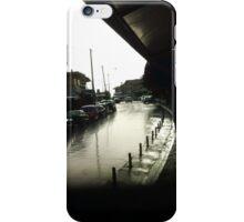 sad rain road iPhone Case/Skin