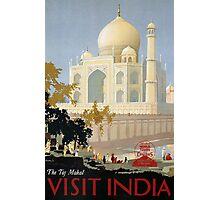 Vintage India Travel Photographic Print