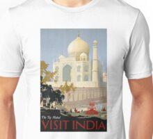 Vintage India Travel Unisex T-Shirt
