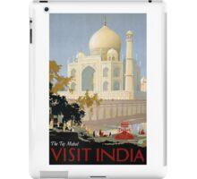 Vintage India Travel iPad Case/Skin