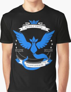 Pokemon Go Team Mystic Revision Graphic T-Shirt