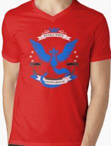 Pokemon Go Team Mystic Revision Mens V-Neck T-Shirt