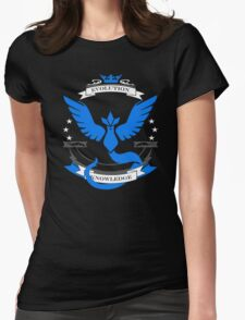 Pokemon Go Team Mystic Revision Womens Fitted T-Shirt