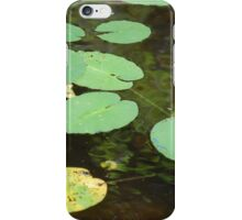 Water Lilies in Ripples iPhone Case/Skin