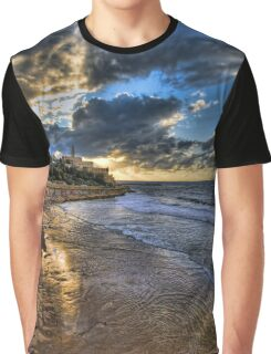 Tel Aviv, the golden hour Graphic T-Shirt