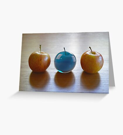 Water Apple Greeting Card