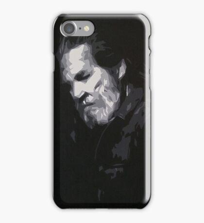 Jeff Bridges - Abstract Study iPhone Case/Skin