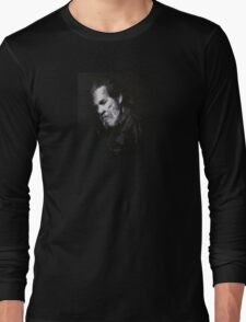 Jeff Bridges - Abstract Study Long Sleeve T-Shirt