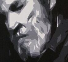 Jeff Bridges - Abstract Study Sticker