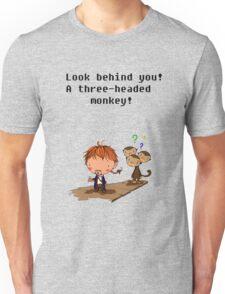 A three headed monkey Unisex T-Shirt