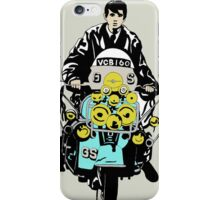 scooter boy iPhone Case/Skin