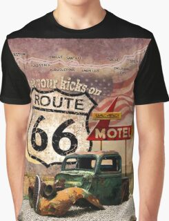 Get your Kicks on Route 66 Graphic T-Shirt