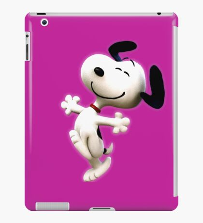 Snoopy, peanut, happy dog,  iPad Case/Skin
